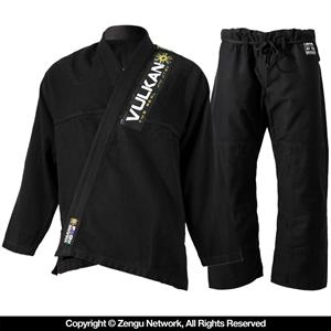 Vulkan Pro Light Black BJJ Gi